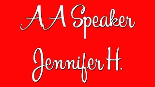 """Hilarious AA Speaker Jennifer H. – """"I Used to Have a Skid Row Soul"""""""