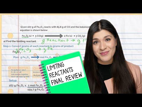 Most Common Chemistry Final Exam Question: Limiting Reactants ...