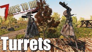 7 Days to Die Turret Guide - Auto Turret & Shotgun Turret (Alpha 16)