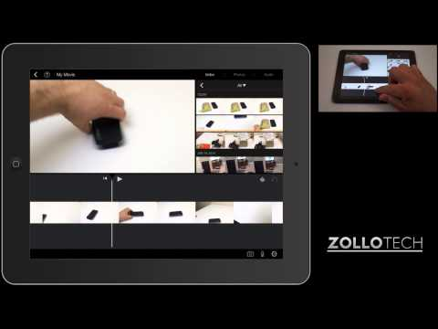 iMovie for iPad and iPhone – How to Create Picture in