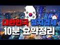 대한민국 정치경제 10분 요약정리