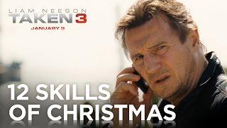 TAKEN 3   12 Skills Of Christmas [HD]   20th Century FOX