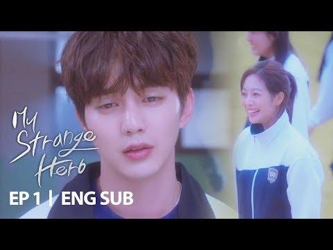 "Yoo Seung Ho ""My heart broke"" [My Strange Hero Ep 1]"