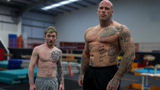 150kg 'GIANT' Tries GYMNASTICS! ft 'MARTYN FORD'