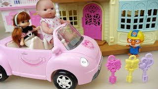 Baby doll secret house and toys baby Doli play