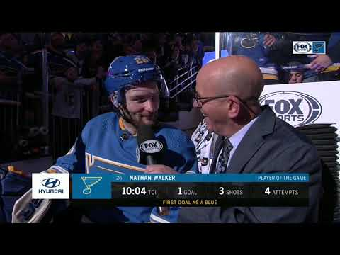 """Nathan Walker says his return to the NHL has """"been incredible"""""""