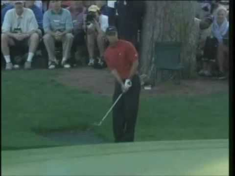 Tiger Woods, Masters Augusta 2005: 16th Hole