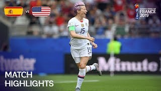 Spain v USA - FIFA Women's World Cup France 2019™