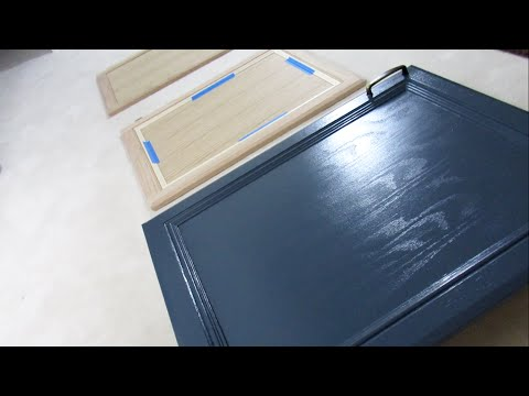 HOW TO MAKE PLAIN CABINET DOORS LOOK GOOD AND NEW!!