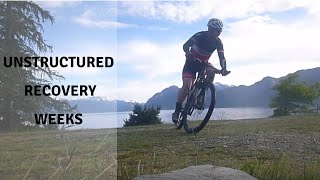 How to use unstructured recovery weeks in training