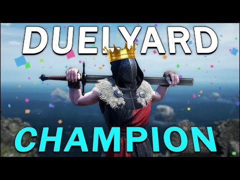 THE DUELYARD CHAMPION - Mordhau (Duels)
