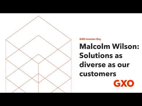 GXO Investor Day: Solutions as diverse as our customers