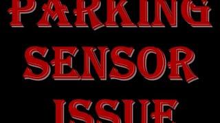 Toyota Tundra Parking Sensor Issue