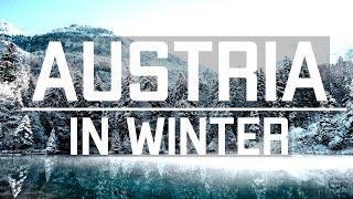 AUSTRIA IN WINTER - Winter Paradise (4K)