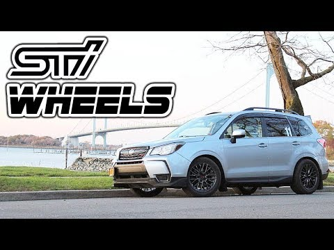 I Put STi Wheels on my Forester and they look AMAZING! | 2014 - 2018 Subaru Forester XT