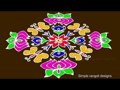 Download Pongal Paanai Rangoli 21 To 1 Dots Pongal Special Rangoli