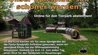 preview picture of video 'Spielplatz Tierpark Rauenberg - Fanta Spielplatz-Initiative'