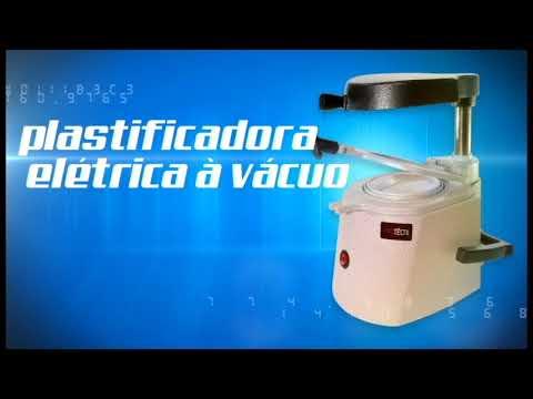 Plastificadora Eletrica A Vacuo Odontologico Protetica