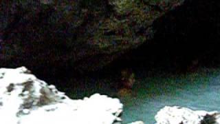 Relax all'interno della grotta sulfurea seminaturale, di Acquasanta Terme 14 agosto 2009
