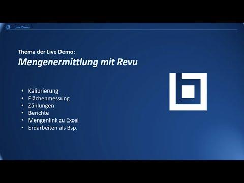 Webinar: Mengenermittlung mit Bluebeam Revu