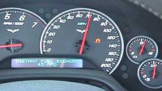 STS Turbo Corvette C6 MPG Test