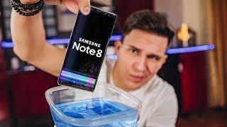 Пытаюсь утопить Note 8 - обзор и сравнение с iPhone 8