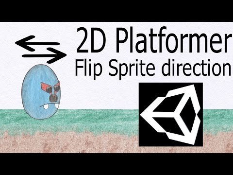 4  Unity 5 tutorial for beginners: 2D Platformer - Flipping the