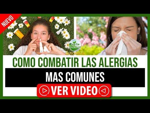 COMPARTO CONTIGO ALGUNAS FORMAS DE COMBATIR LAS ALERGIAS MAS COMUNES