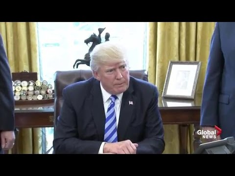 President Trump disappointed on healthcare bill getting pulled