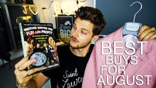 MY BEST BUYS FOR AUGUST