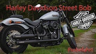 Harley Davidson Softail Street Bob 2020 | Miller Exhaust | Probefahrt | Motovlog | Thunderbike