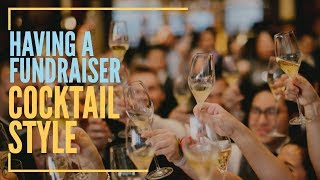 Cocktail Style Fundraising Event | Stand Up Live Auction