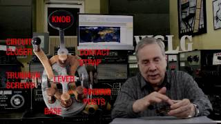 Ham Radio Basics--Sending CW With A Straight Key--Morse Code
