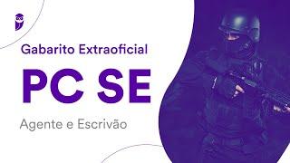 Gabarito Extraoficial PC SE – Agente e Escrivão