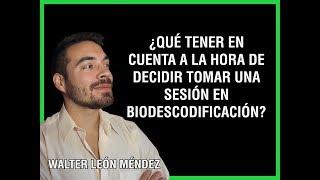 Cómo es una sesión de Biodescodificacion - YouTube