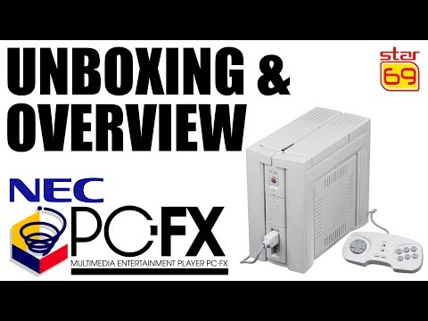 Rob Talks: PC-FX Console Overview and Unboxing