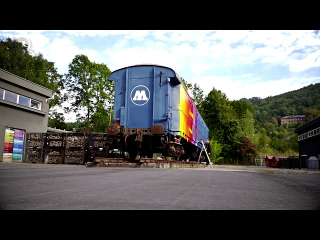 ORUS paints the MOLOTOW Train