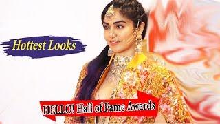Adah Sharma  At HELLO Hall of Fame Awards 2019.