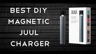 Charging a juul without a real juul charger works for phix too best diy magnetic juul charger solutioingenieria Images