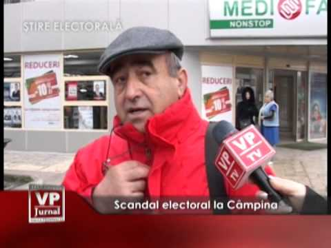 Scandal electoral la Câmpina