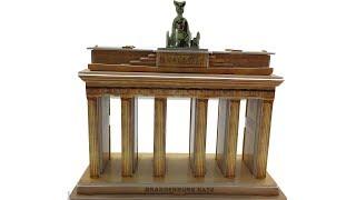 DIY Miniature Brandenburg Gate ~ 3D Puzzle