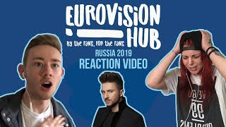 Russia | Eurovision 2019 Reaction Video | Sergey Lazarev   Scream