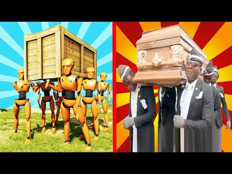 DANCE COFFIN ON FUNERAL MEME COMPILATION | ASTRONOMIA SONG | BeamNG Drive