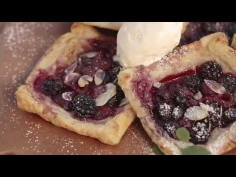 Cooking Mixed Berry Tarts on Weber Premium Gas Barbecues