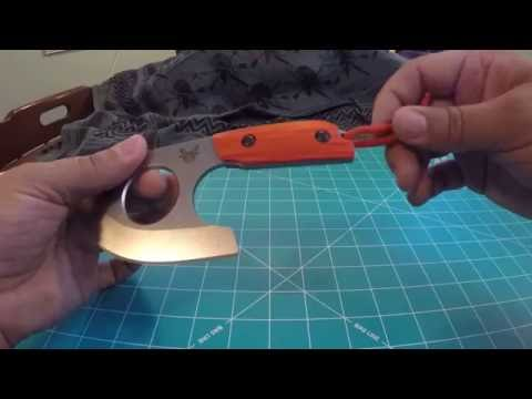Benchmade Nestucca Cleaver review,  this blade Rocks!!!