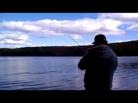 White Pond bass fishing, putnam county NY.