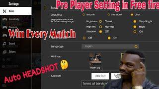 free fire pro player sensitivity setting - TH-Clip