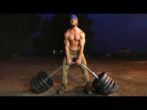 How Much Weight Can a Barbell Hold?   STRENGTH TEST