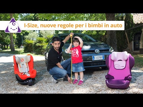 Bambini in auto | Le nuove regole i-Size