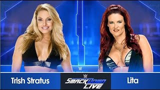 SmackDown! #17:Extreme Rules Falls Count Anywhere Match:Trish Stratus vs Lita